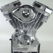 Harley-Davidson V-twin motorcycle engine